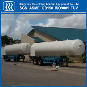 Chemical Liquid Oxygen Nitrogen Argon Tanker Semi Trailer pictures & photos