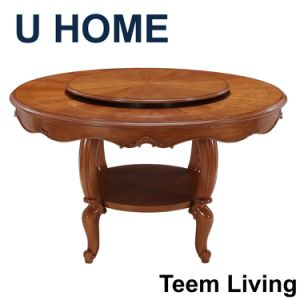 New Design Wood Furnitue Antique Dining Table pictures & photos