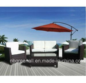 Outdoor Furniture Wicker Sofa Rattan Garden Furniture (GN-9078S) pictures & photos