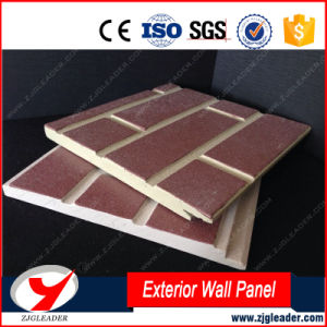 No Asbestos Long-Life Impression Pattern Exterior Wall Decorative Board pictures & photos