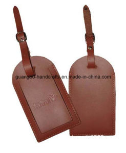 Customized Metal Plastic Soft PVC Rubber Silicone Leather Luggage Tag pictures & photos