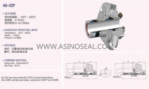 as-C2p Cartridge Seal, Mechanical Seal for Water Pump pictures & photos