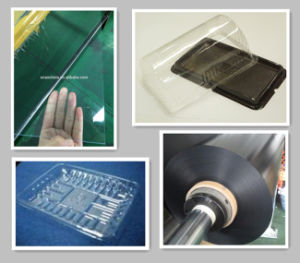 Transparent Pet Sheet and PVC Sheet Black for Break Box pictures & photos