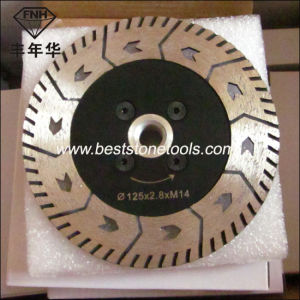CB-17 Gct Flange Saw Blade for Stone Cutting & Grinding (115-230mm)