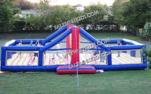 Backyard Inflatable Volleyball Court, Inflatable Soccer Field, Inflatable Football Field, Field Water Park Games / Beach Sport Game pictures & photos