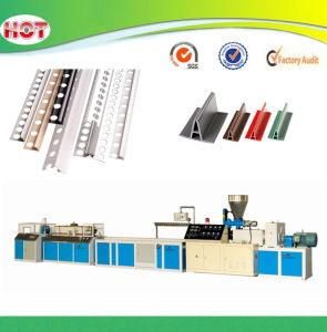 Plastic PVC Tile Trim Profile Production Line pictures & photos