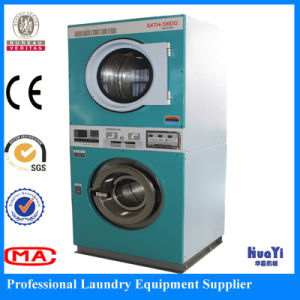 Huayi Fully Automatic Industerial Stackable Washer and Dryer pictures & photos
