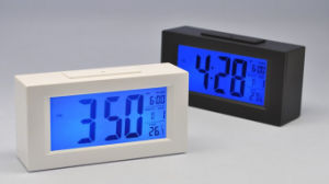 LCD Display Digital Alarm Clock for Hotel pictures & photos