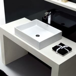 Marble Top Square Sink with Good Quality S1001-010 pictures & photos