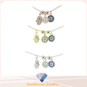 Hot Selling 925 Sterling Silver Character CZ Jewelry Necklace (CH4ele041) pictures & photos