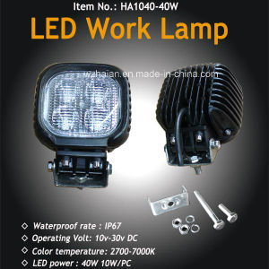 40W 4X4 CREE LED Work Lamp pictures & photos
