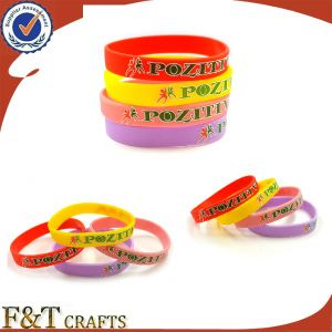 Hot Selling Silicon Bracelet / Silicon Wristband pictures & photos