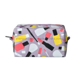 Cavas Pencil Bag Coin Bag with Different Color Logo pictures & photos