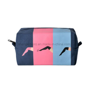 Cavas Pencil Bag Coin Bag with Different Color Logo