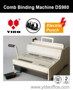 F4 Size Heavy Duty Electrical Comb Binding Machine (DS980) pictures & photos