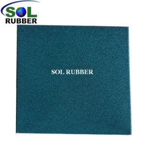 500mm *500mm Certificated Rubber Flooring pictures & photos