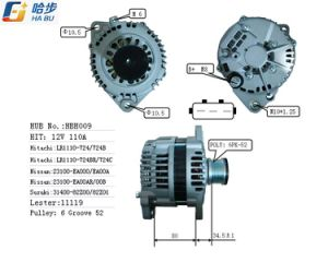 100% New Premium Quality Alternator Fits for Nissan Frontier Pickup Lester11119 Lr1110-724 pictures & photos