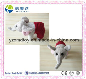 10cm Cheap Custom Plush Elephant Toy with Pant pictures & photos