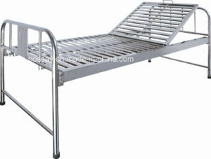 Stainless Steel Portable Cheap Hospital Bed pictures & photos