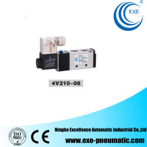 Exe Air Solenoid Valve 220V AC Aluminum Body 4V210-08 pictures & photos