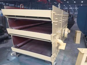 Hot Sales Vibrating Screen for Mine Sieving Hard Stone Powerful Linear Vibrating Screen pictures & photos