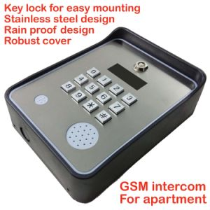 GSM Intercom and GSM Gate Opener and Door Access Controller for Apartment pictures & photos