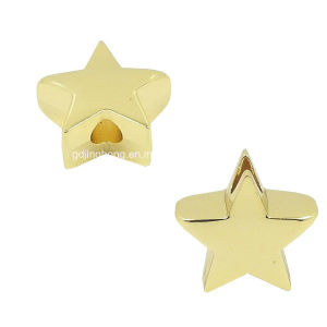 Star Shape Metal Bead in Gold Color pictures & photos