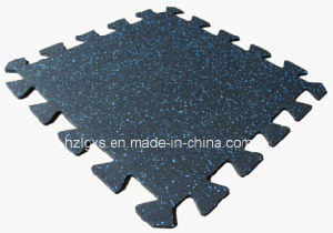 Colorful Interlocking Rubber Tiles Flooring Puzzle Rubber Mats pictures & photos