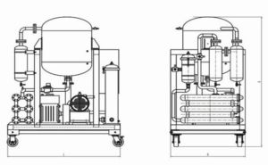 Vacuum Oil Treatment Machine for Dehydration, Degas, Impurities Removing pictures & photos