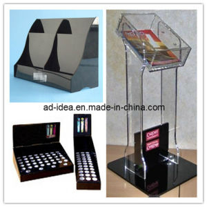 Black Color Acrylic Pop Display with OEM, Acrylic Banner pictures & photos