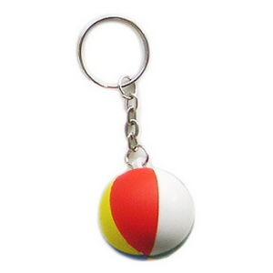 PU Ruby Ball Key Chain with Customer Design pictures & photos