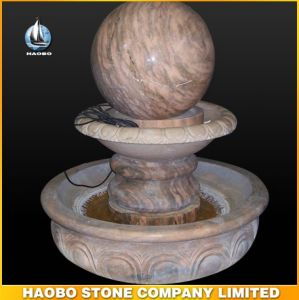 Natural Marble Decoration Ball Water Fountain pictures & photos