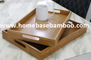 Finest New Bamboo Bulter Serving Tray Food Tea Fruit Organic pictures & photos