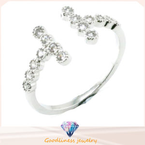 Factory Price High Quality Wholesale 2016 Fashion Crystal 925 Sterling Silver Jewelry for Men Women Engagement White Gold Wedding Diamond Ring (R10413) pictures & photos