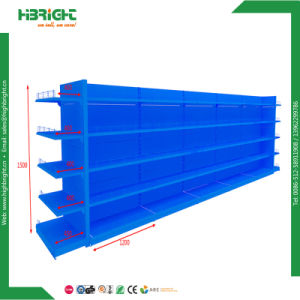 Heavy Duty Wooden Frame Supermaket Gondola Shelving pictures & photos