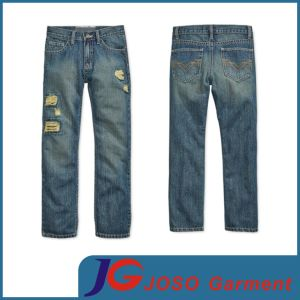 Destroyed Children Garment Jeans Boy Clothes (JC8044) pictures & photos