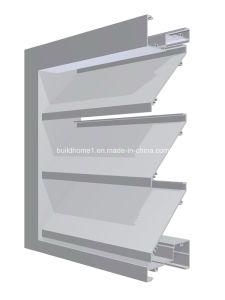 Improved Rigidity Powder Coat Aluminium Louver Window pictures & photos