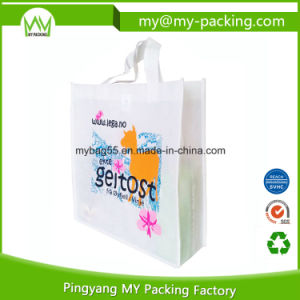 Promotional Easy Shopping BOPP Laminated Nonwoven Cloth Bag pictures & photos