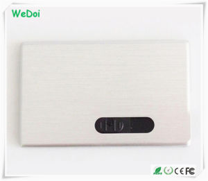 Sliding Metal Credit Card USB Flash Drive with Factory Price (WY-C05) pictures & photos