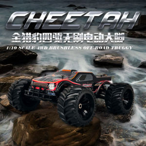 11101 (RTR) 1/10 Scale 2.4G 4WD Electric Powered RC Car Monster Truck RTR pictures & photos