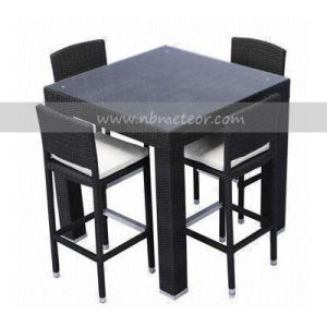 Mtc-100 Outdoor Rattan Bar Set Chair and Table pictures & photos