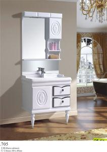 Sanitaryware Vanity PVC Bathroom Vanity Plastic Home Furniture (705)