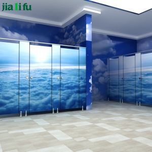Jialifu High Quality Waterproof HPL Male Washroom Partition pictures & photos