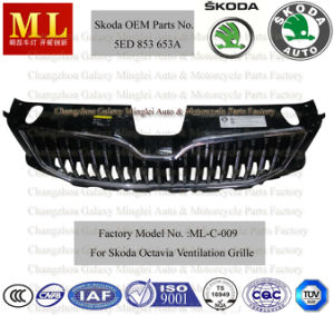 Car Body Parts for 2012 Skoda Octavia Grille (5ED 853 653A) pictures & photos