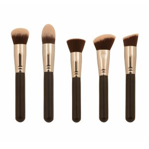 5PCS Kabuki Makeup Brushes with Synthetic Hair pictures & photos