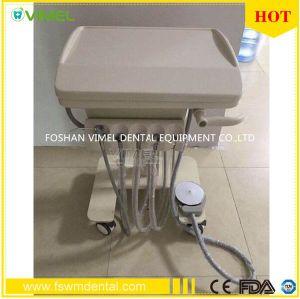 Dental Portable Moveable Treatment Desk Handpiece Self Delivery Unit pictures & photos