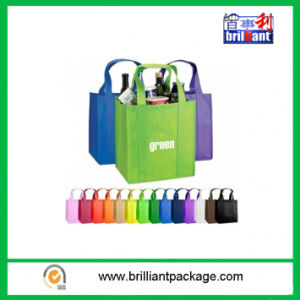 Factory Cheap Sell Many Color Bottle Bags with Handle Bag pictures & photos