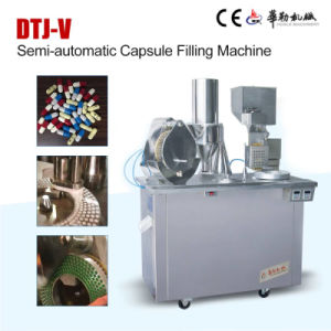 Pharmaceutical Semi Automatic Hard Capsule Filling Machine for Powder pictures & photos
