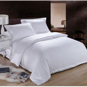 Shanghai DPF Hot Sales Hotel Cotton Fabric Bed Cover (DPFB8006) pictures & photos