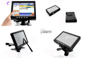 Three Years Warranty 7′′ Inch Small Size Touch Screen Monitor pictures & photos